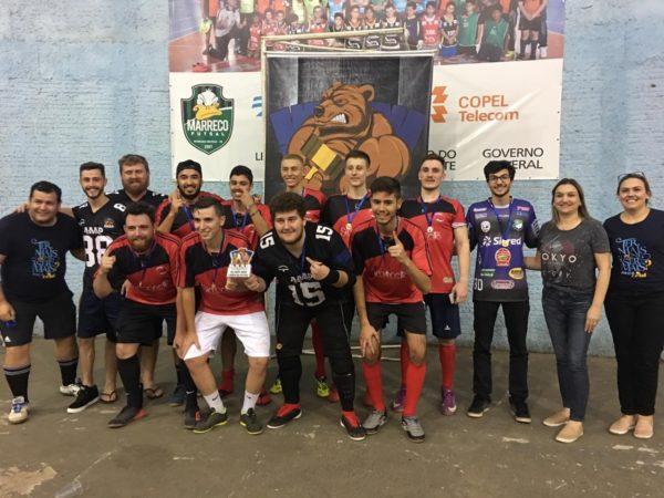 Os acadêmicos da equipe Antes do Bar FC ficaram com o título no masculino.